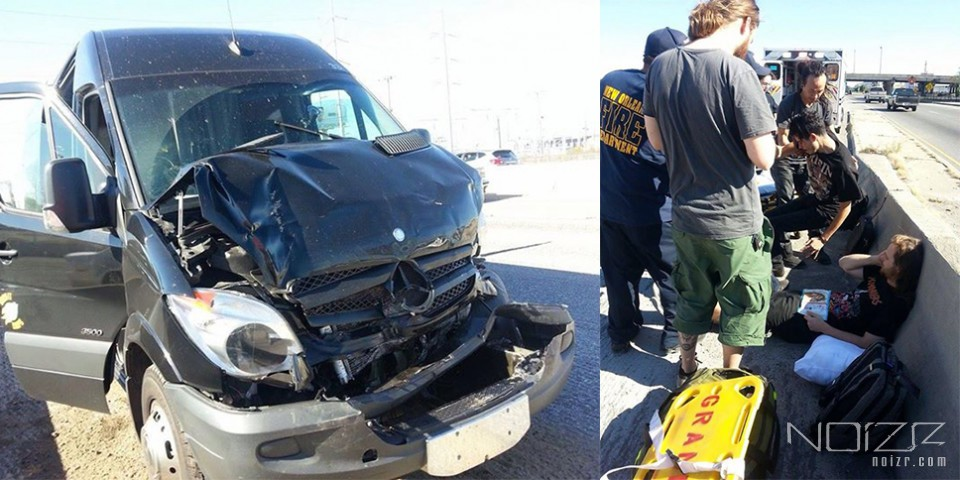 """""""This time we were lucky"""": Decapitated involved in a serious van accident"""