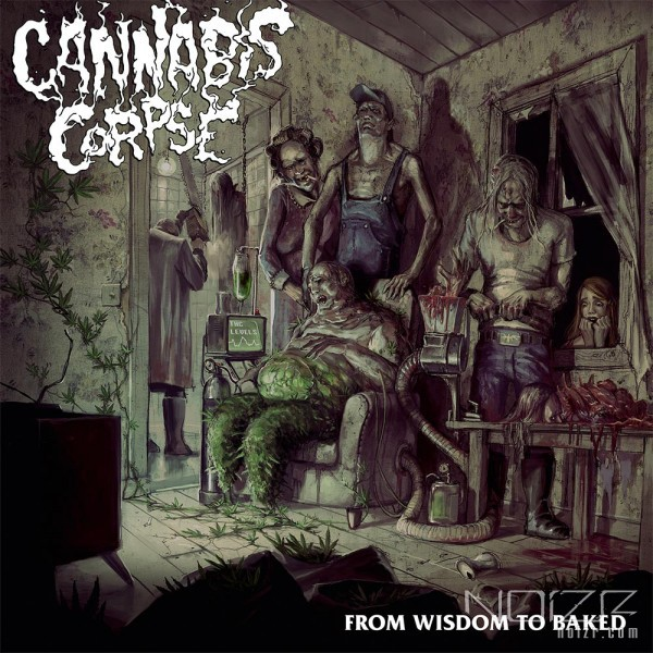 "Cannabis Corpse: the new album ""From Wisdom To Baked"""