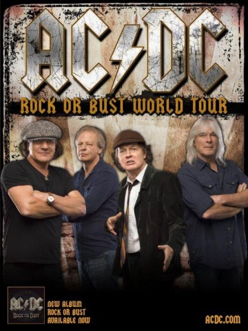 AC/DC announced 2015 European tour dates