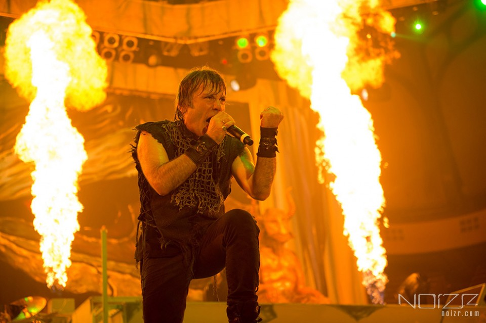Iron Maiden's frontman is being treated for cancer