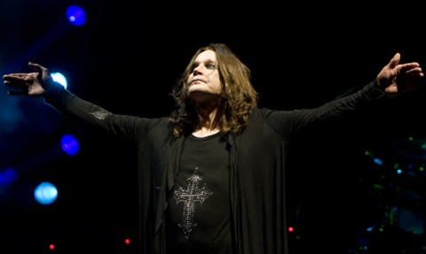 Live video with Ozzy Osbourne at Ozzfest 2010