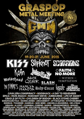Graspop Metal Meeting Festival announces the final line-up