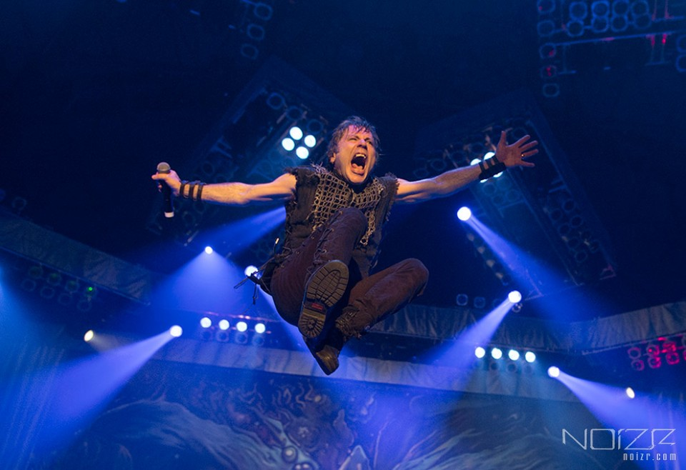 Iron Maiden's vocalist is cured, band's new album comes out this year