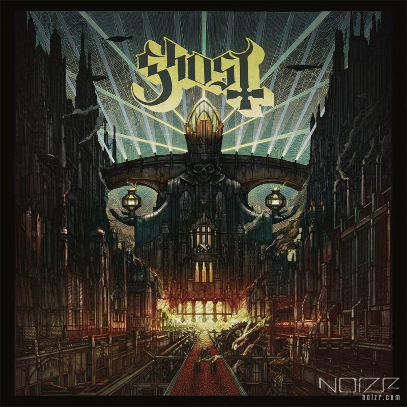 Artist posted photos of Ghost's new album cover art creation