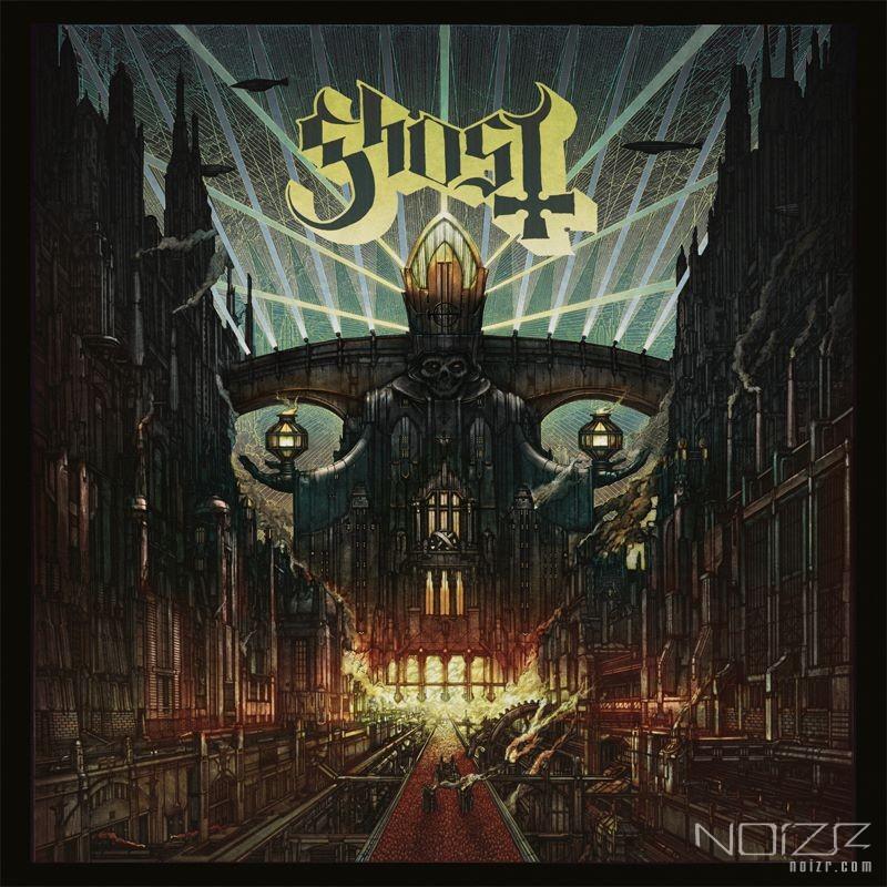 Художник разместил фотографии создания обложки нового альбома Ghost
