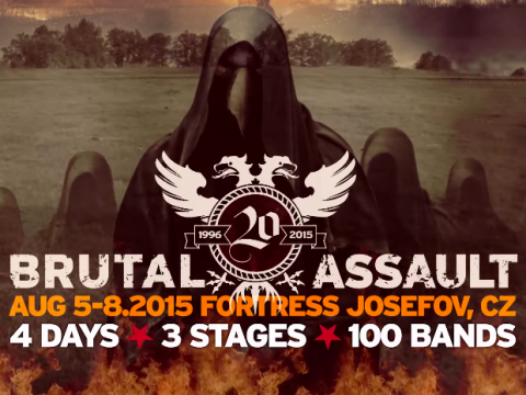 Trailer for Brutal Assault 20th anniversary fest