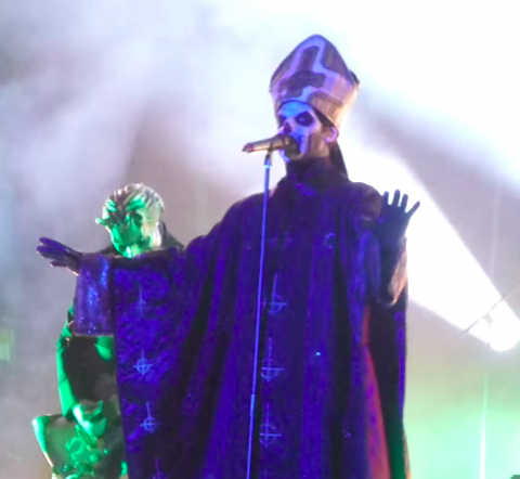 "Video: Ghost performing ""Majesty"" at Sweden Rock Festival"