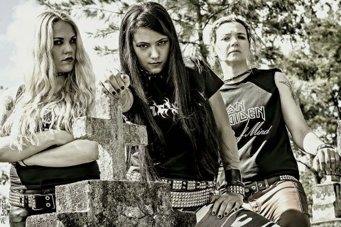 "Female thrash metal band Nervosa ""Into Moshpit"" video release"