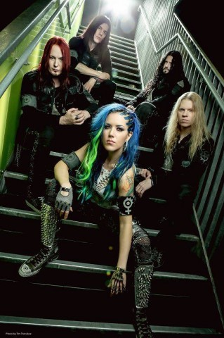 "Arch Enemy release illustration video ""Avalanche"""