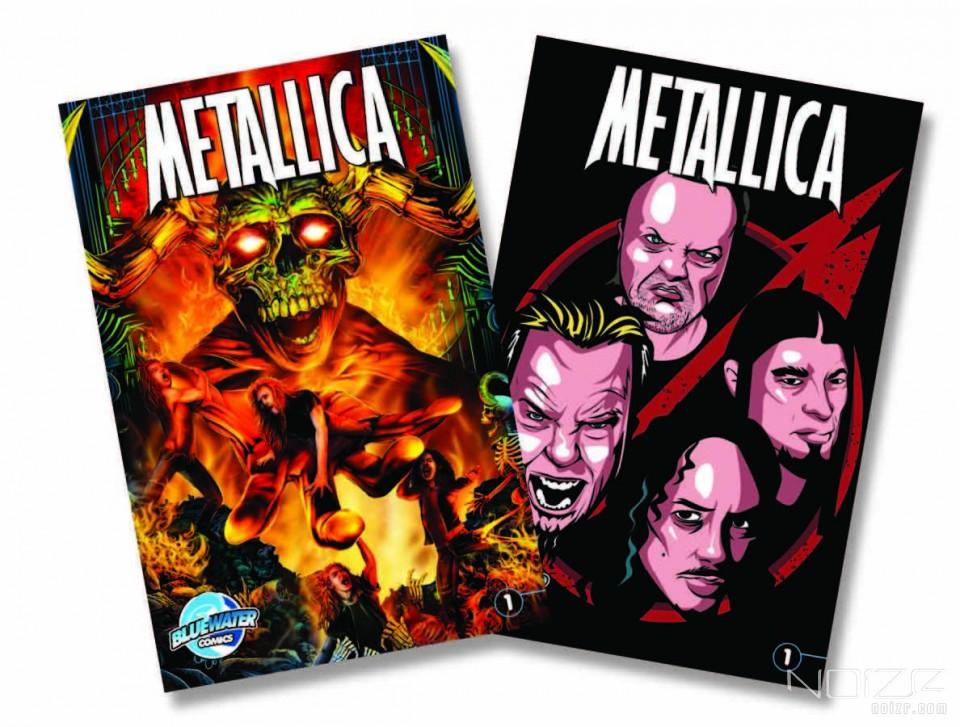 Вышел биографический комикс о Metallica