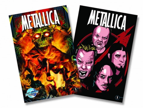 Metallica's biographical comic book release