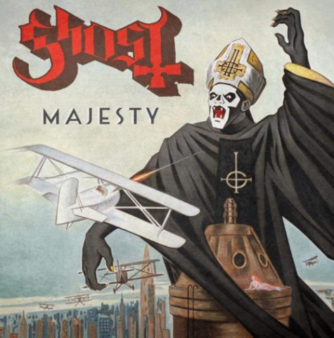 "Ghost's new song ""Majesty"" premiere"