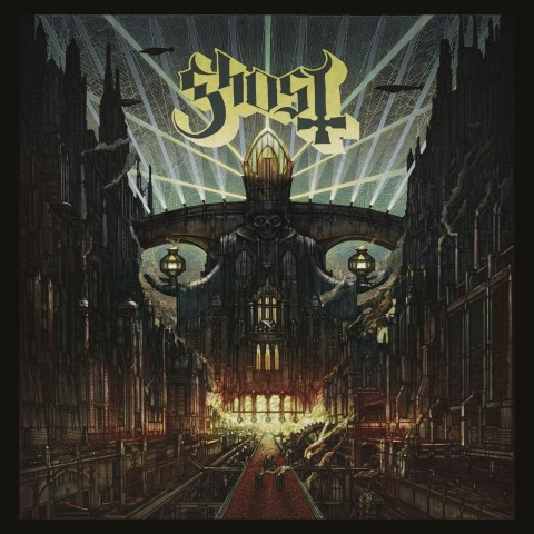 "Ghost's new album ""Meliora"" is officially streamed"
