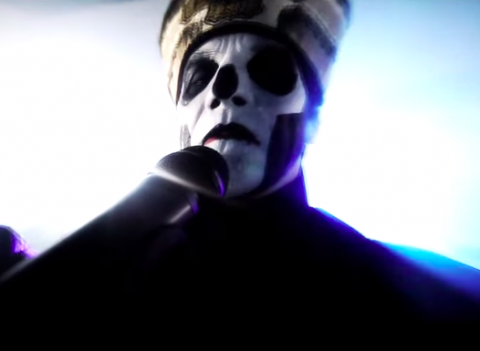 Video: Ghost performing at Deezer Session
