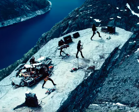 "Video: Norwegians Shining performing ""Last Day"" at Trolltunga"