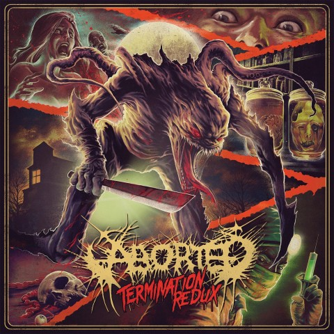 "Aborted new lyric video ""Vestal Disfigurement Upon The Sacred Chantry"""