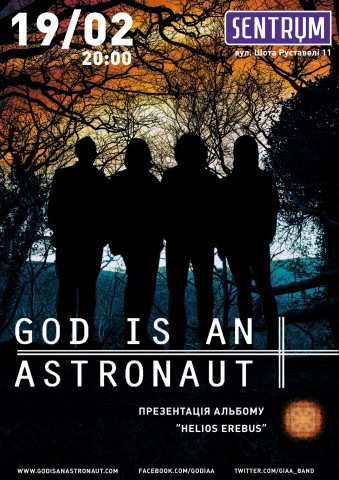 19.02.2016 God Is An Astronaut @ Sentrum, Kyiv