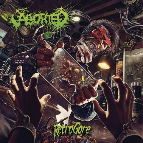 "Aborted share ""Retrogore"" album title track"