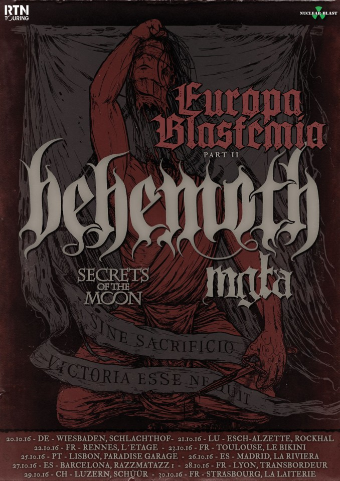 Behemoth Mgla Tour