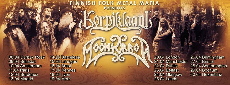 Korpiklaani Moonsorrow Tour