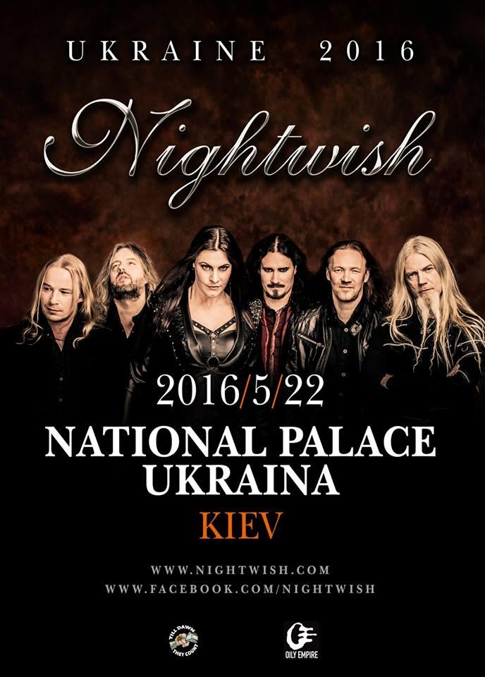 22.05.2016 Nightwish @ NPA Ukraine, Kyiv