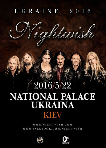 22.05.2016 Nightwish @ NPA Ukraine, Kyiv