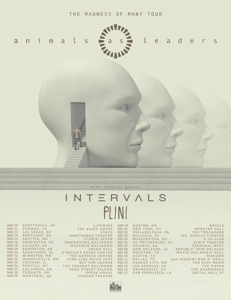 Animals As Leaders Tour