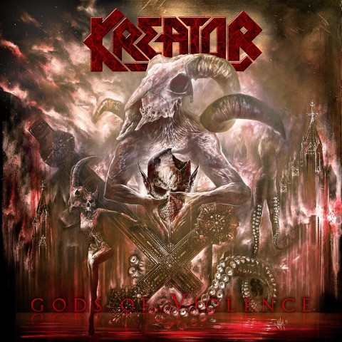 "For fans of old school: Kreator's album ""Gods of Violence"""