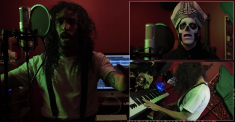 "Blogger sings System Of A Down ""Chop Suey"" in style of Ghost, Faith No More and others"