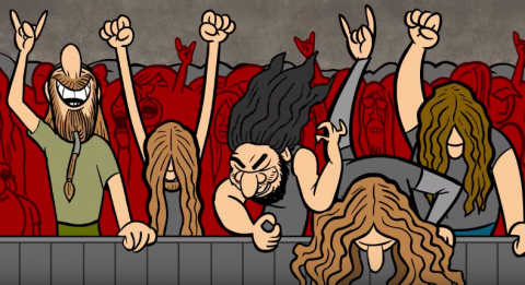 "Obituary release new animated video ""Ten Thousand Ways To Die"""