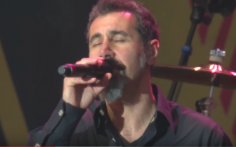 "Video: System Of A Down frontman performs ""Like a Stone"" with Prophets Of Rage"