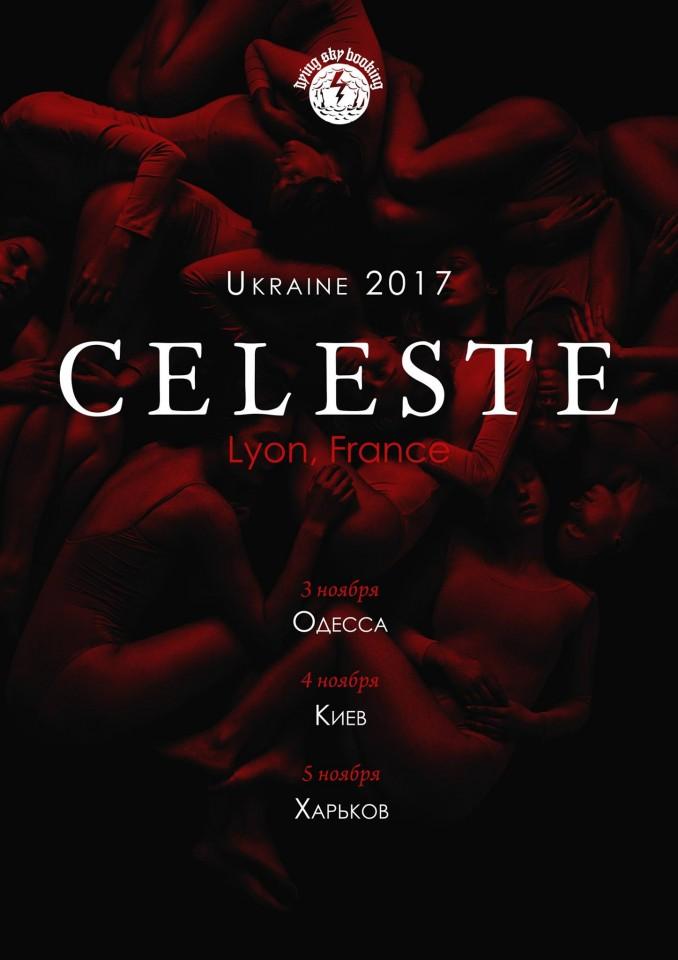 Celeste to perform in Odesa, Kyiv, and Kharkiv this November