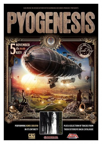Pyogenesis to perform for the first time in Ukraine on November 5