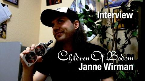Интервью с Янне Вирманом (Children Of Bodom) – о турах, новом альбоме и записи на складе
