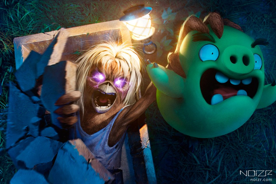 Iron Maiden mascot appears in Angry Birds Evolution game
