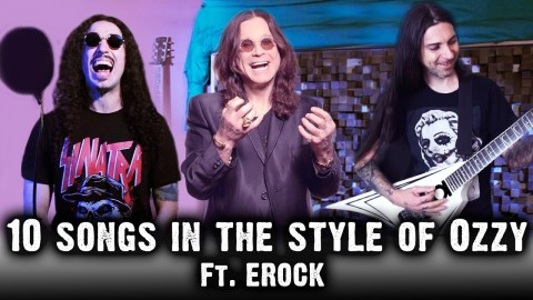 """Ten Second Songs"" covers songs in Ozzy Osbourne style"