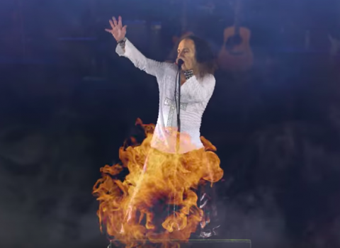 Ronnie James Dio's hologram tour promo video surfaces online