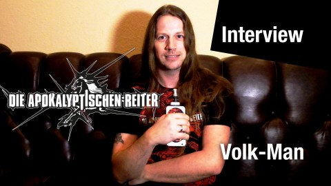 """I wasn't really sure if the band would be back"": Interview with Volk-Man from Die Apokalyptischen Reiter"