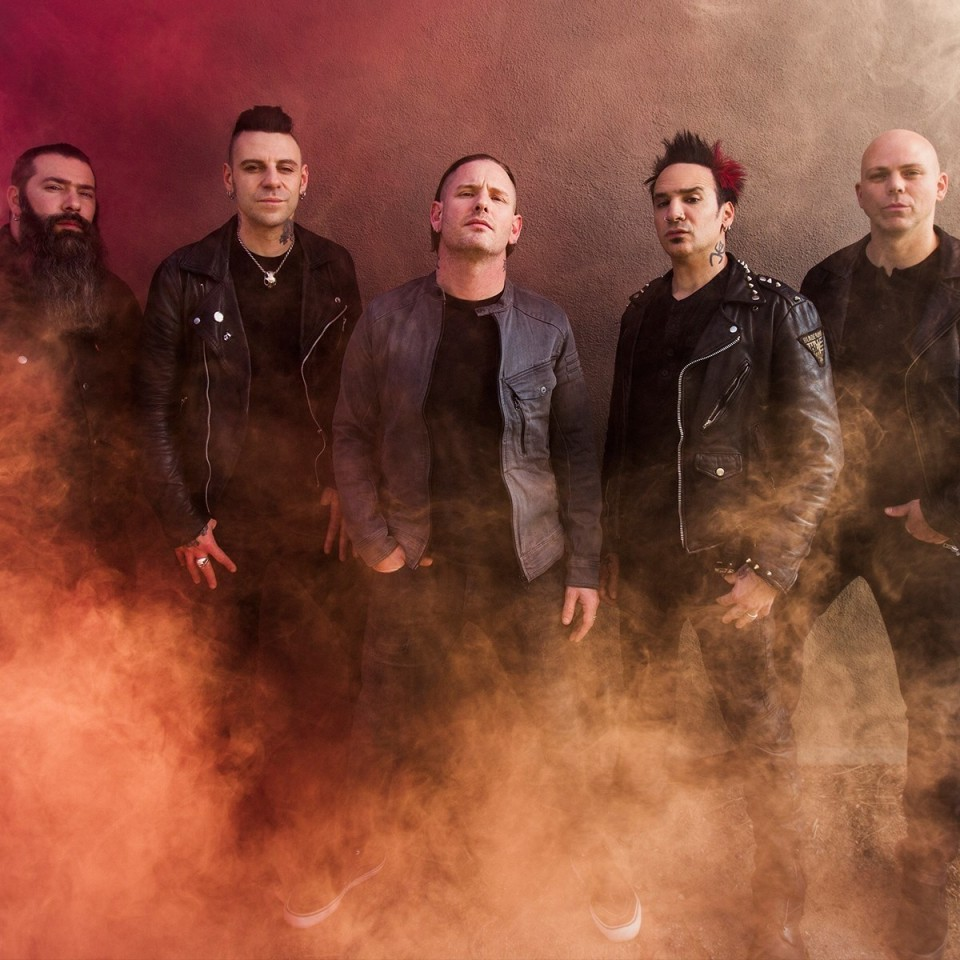 Stone Sour to perform in Kyiv for the first time
