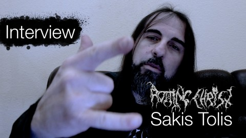 """The more famous you are, the more you suffer"": Interview with Rotting Christ's Sakis Tolis"