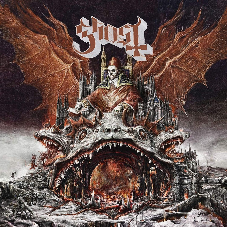 "When Papa has gone, pop has come: Мнение о новом альбоме Ghost ""Prequelle"""