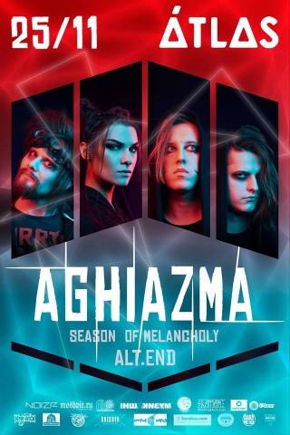 Aghiazma випустили новий сингл і анонсували концерт-презентацію альбому на 25 листопада у Києві