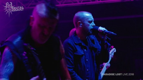 Paradise Lost live video from last year's performance at Brutal Assault