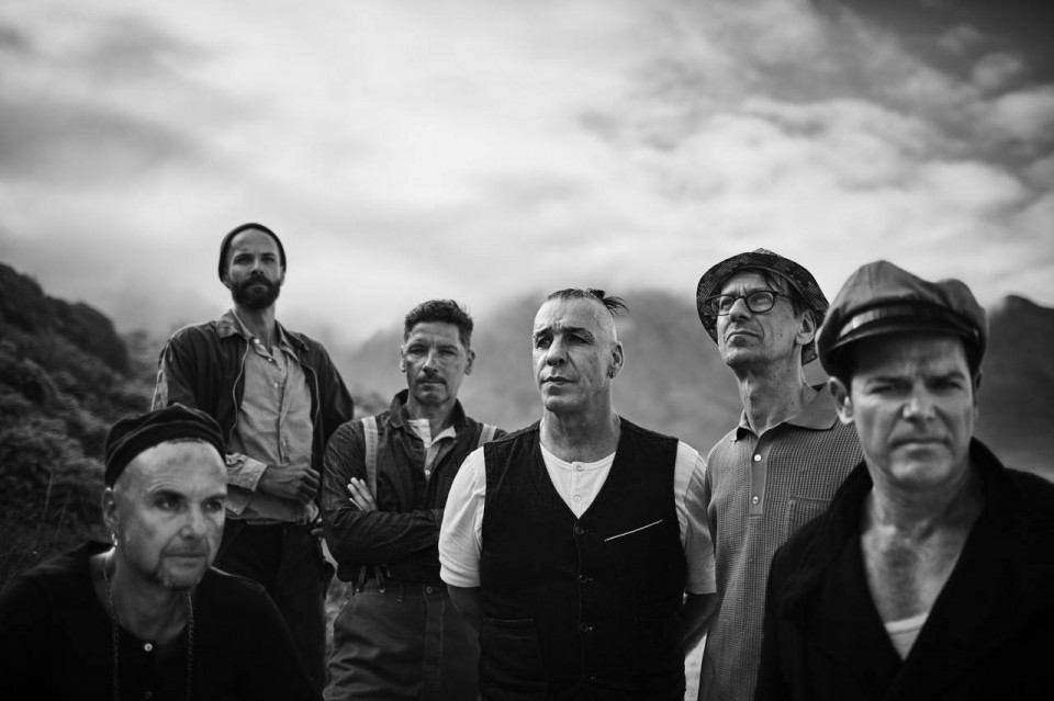 Rammstein unveils album cover and track listing