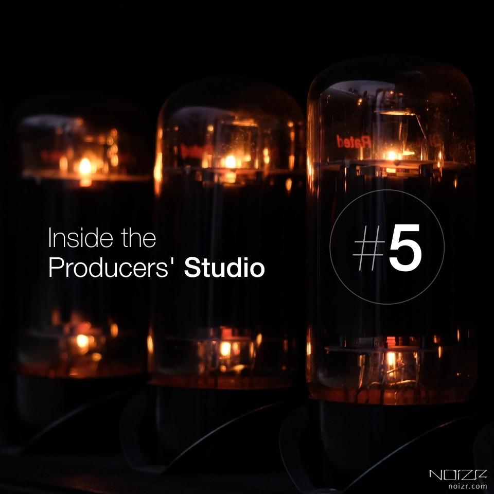 Inside the Producers' Studio. Recording guitars