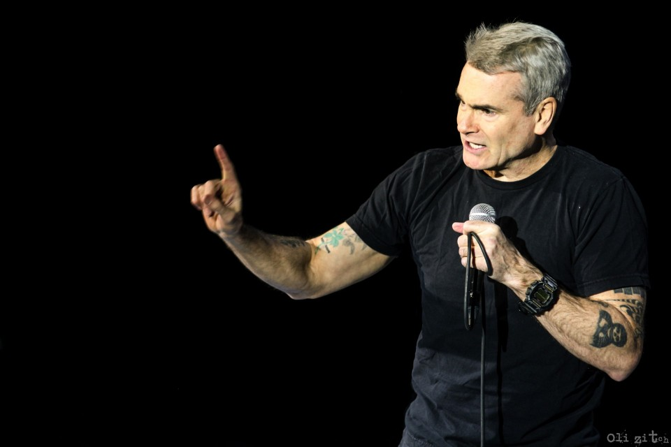 """I am 55, but that's not the topic"". Henry Rollins performed in Kyiv"