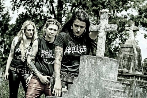 Female thrash metal trio Nervosa is to perform in Kyiv
