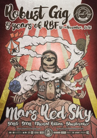 Robustfellow to celebrate its 5th anniversary with Mars Red Sky's show