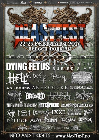 Blastfest: Кто выступит на норвежском фестивале в следующем году