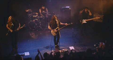 Live footage from Alcest's show in Kyiv surfaced online